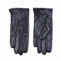 Buy cheap Ladies leather gloves, measures 7 inches from wholesalers