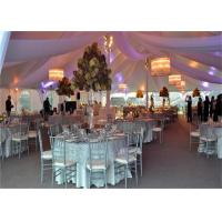 Cheap High Strength White Waterproof Wedding Event Tents Large A SHAPED Tent For 600 for sale