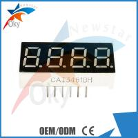 Best 4-Digit 0.56 7-Segment Color Electronic Components Red LED Display Common Anode Module wholesale
