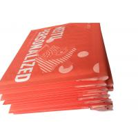 Best Red Custom Printed Kraft Bubble Mailer , Mailing Bubble  Envelopes wholesale