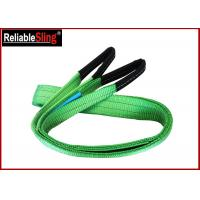 Cheap 2ton Approved Color Code Lifting Sling Flat Webbing Lifting Slings Safety for sale