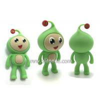 China PVC mini cute 3d dolls custom for home decoration children promotional gifts on sale