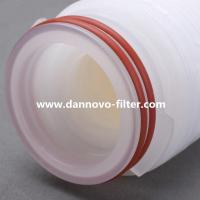 Best PP Pleated Filter Cartridge Micropore Membrane Water Filter Cartridge for Water Treatment wholesale