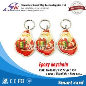 Best EM4100 Em4305 printe 125khz rfid card for access card 125khz rfid keychain T5577 wholesale