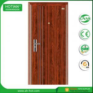 Best main entrance bullet proof steel security door wholesale