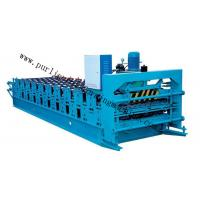 Best Metal Glazed Roof Cap Ridge Roll Forming Machine for Ridge Sheet / Corrugated Sheet wholesale