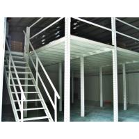 China Structural Steel Raised Storage Mezzanine Floor , 1 Level / 2 Levels / 3 Levels on sale
