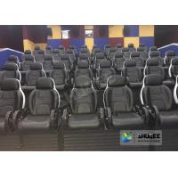Cheap 220V 5D Motion Theater System , Luxury Electric 3DOF 5D Seats With Genuine for sale