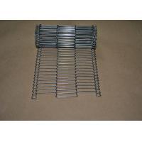 Best Stainless Steel Flat Flex Wire Mesh Conveyor Belt For Drying And Cooking wholesale