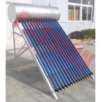 Best Stainless Steel Anti Freezing Heat Pipe Solar Water Heater With Intelligent Controller wholesale