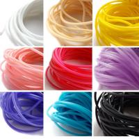 Best Heat Resistant Silicone Rubber Cord High Elasticity High Strength With Long Lifespan wholesale