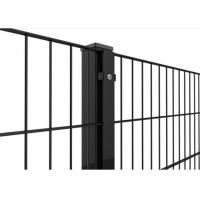 Best PVC Coated Welded Wire Mesh Panels 868 Fence 50X200MM With 50MM Square Post wholesale