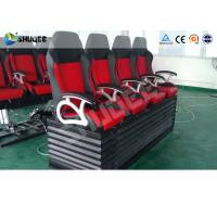Best Large Curved Screen 5D Movie Theater Dynamic Chair , Special Effect wholesale