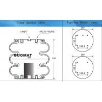 Buy cheap Industrial Air Spring triple convoluted Firestone W01-358-7808 Refer FT 530-32 from wholesalers