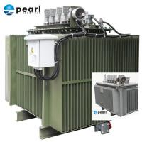 China Compact Size Oil Immersed Transformer 6.6 kV - 1250 kVA Eco Friendly Three Phase on sale