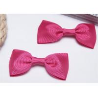 Best High End Bow Tie Ribbon , Hair Elastic Bands Home Textile Purple wholesale
