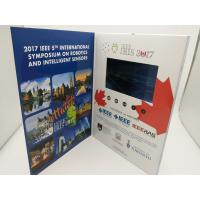 Cheap Rechargeable Real Estate Video Brochure,digital video brochure,lcd video brochure with touch screen for sale