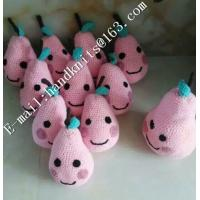 Best Factory Custom OEM High Quality Hand Knit Crochet Cotton Baby Pet  Animal Kid Toys and Dolls  DIY Fruit Toy wholesale