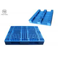 """Best 40"""" X 48""""  PP Material Plastic Racking Pallets With Metal Reinforcing Rods 1000kg Rack For Warehouse wholesale"""