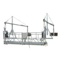 Cheap Hot Galvanized Rope Suspended Platform , High Rise Building Suspended Gondola for sale