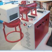 Quality Hand Held Portable Fiber Laser Marking Machine For Meta Products Processing 20w wholesale
