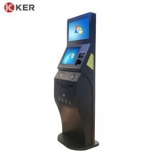 Best Passport Reader Smart Front Desk 1280 * 1024 Self Check Out Kiosk wholesale