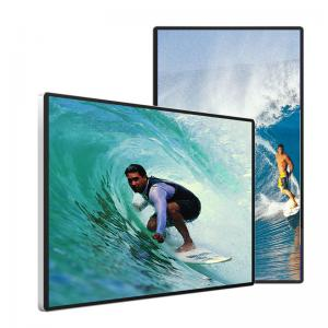 Best 10.2B Wall Mounted Digital Signage 3840*2160 Transparent LCD Display 6ms wholesale