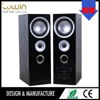 Cheap Stereo USB 2.0 multimedia speaker with mic input , multimedia active speaker for sale