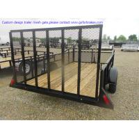 Best trailer mesh gate,OEM manufacturer according to your drawings,custom built wholesale