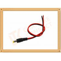 Best Custom Cable Assembly Red And Black With Male Connector , Camera Power Cable wholesale
