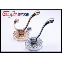 Best Chrome Plated Solid Wall Hangers Rose Gold Luxury Clothes Hooks Classical Towel Rack wholesale