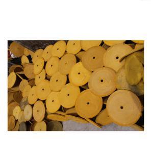 Best 12 inches hole 25mm Oil Sisal Buff - Hexagonal-hole - buffing wheels - polishing wheels wholesale