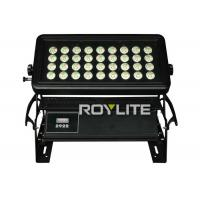 Best IP65 water resistant LED Wall Washer Lights With 36 x 10w RGBW LEDs , Beam angle 35° wholesale