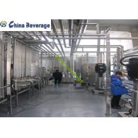 China Customized Reverse Osmosis Water Treatment System PLC Touch Screen Control on sale