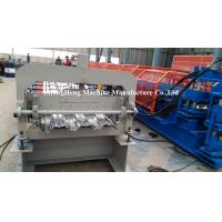 China Galvanized steel Metal Floor Decking Forming Machine 220V 60HZ 3 phases on sale