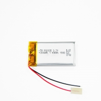 Best 380mAh 3.7 V Lithium Ion Polymer Battery Within 1C Rate wholesale