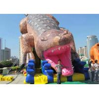 Best Giant Inflatable Amusement Park 19mx5.5m Dimension Safe Entrance For Playing wholesale