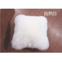 Best Lambswool Car Seat Headrest Neck Cushion Pillow , Fluffy Hairs Car Neck Support Pillow  wholesale