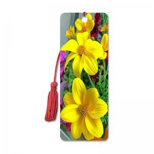 Best Flower Design Souvenir 3D Lenticular Bookmark / 3D Lenticular Printing wholesale