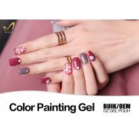 Best Odorless UV Gel Nail Paint No Chemical Nail Polish Customized Color No Heat wholesale