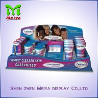Cheap Durable Small Corrugated Cardboard Counter Top Display Box Stand for Hand Cream for sale