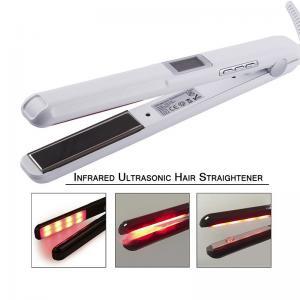 Best 25W-39W Infrared Hair Straightener Ultrasonic LCD Display Hairs Flat Iron Ceramic wholesale
