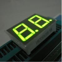 Best Green Two Digit Seven Segment Display Common Anode For Intrument Panel wholesale