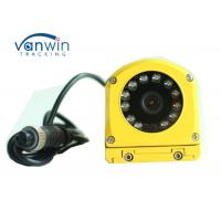 Buy cheap Yellow Metal Waterproof CCTV Surveillance Camera CCD 700TVL Side View For Bus / from wholesalers