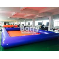 Best Summer Water Game Large Inflatable Backyard Swimming Pools With Customized Toys wholesale