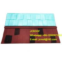 Best Industrial corrugated roofing sheets Heat insulation blue shingle / classic / bond wholesale