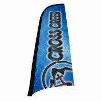 Best Roadside Swooper Feather Flags Banner For Advertising / Trade Show wholesale