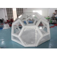 Best Airtight 4M Football Shaped Inflatable Bubble House wholesale