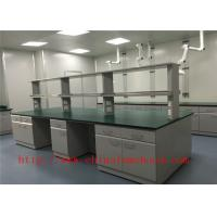 Buy cheap Full Steel Chemistry Lab Tables 12.7mm Solid Worktops SGS Certified from wholesalers