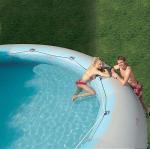 Best 2012 ocean inflatable pool slide/ slide with pool (GL-007) wholesale